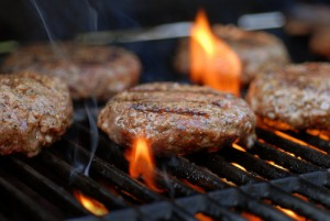 BBQ JBpartyservice hamburger