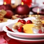 Aankleding kersttafel JB's catering