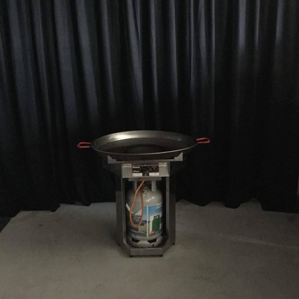Partypan met gas